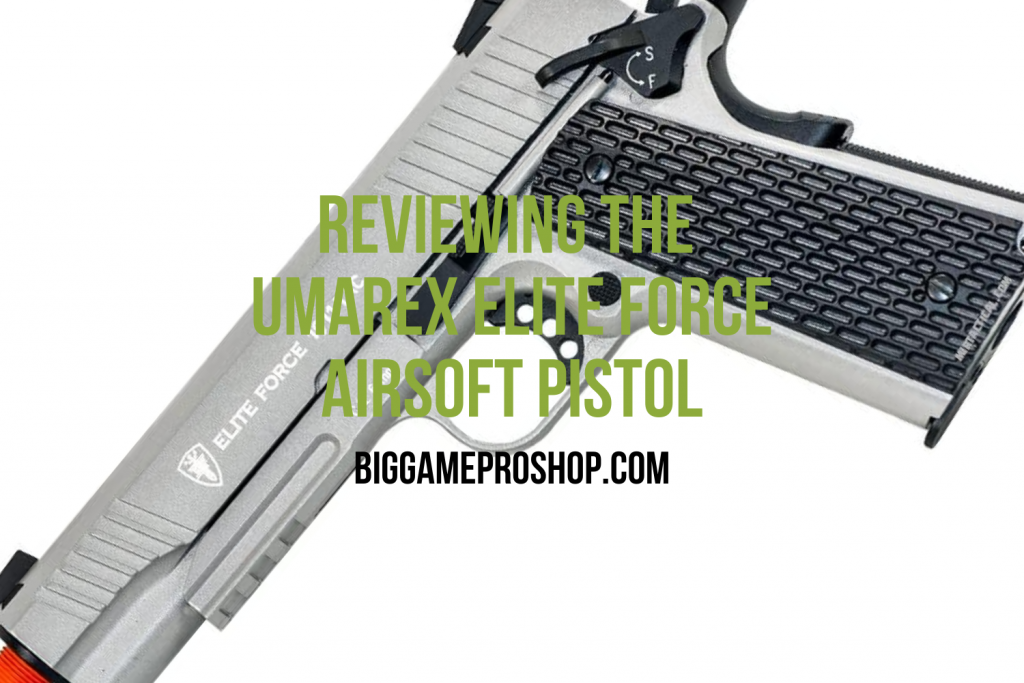 Umarex Elite Force 1911 Airsoft Pistol Review