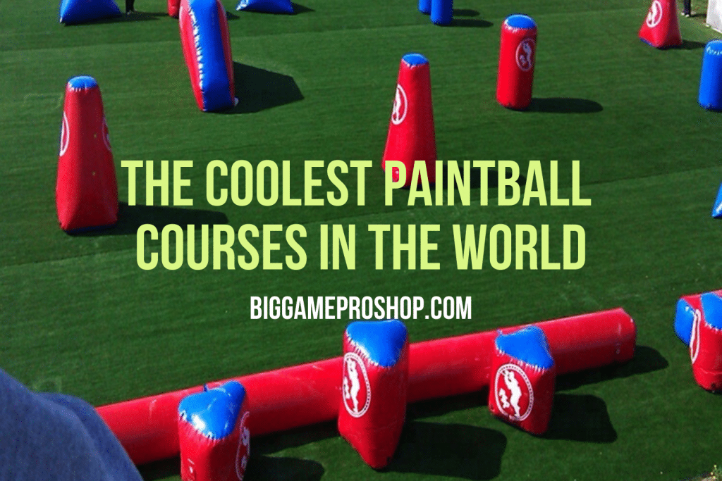 The Coolest Paintball Courses