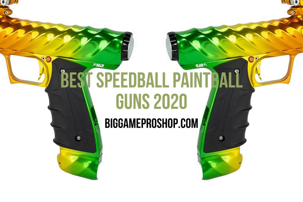 Best Speedball Paintball Guns