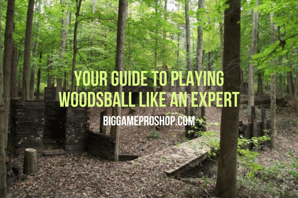 Your guide to playing woodsball like an expert