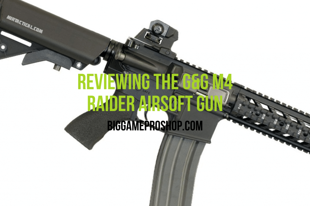 G&G M4 Raider Airsoft Gun Review