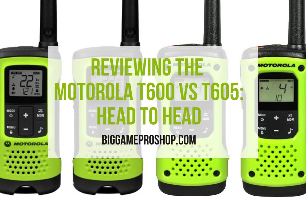 The Motorola T600 VS T605