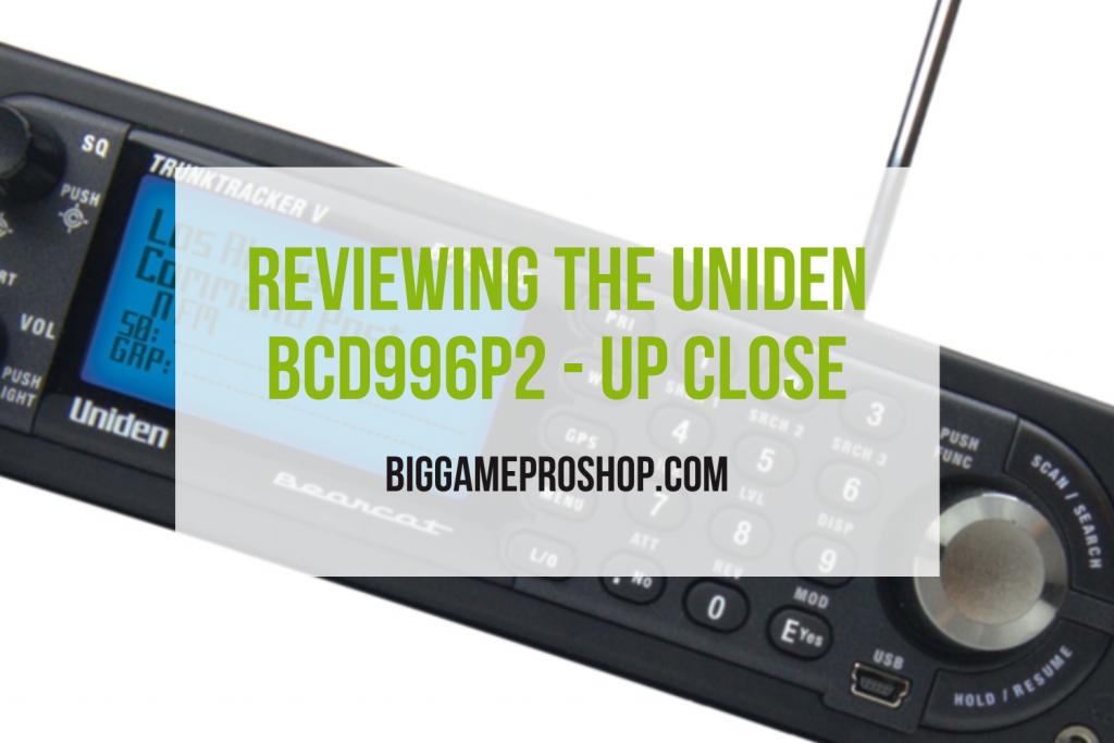 The Uniden BCD996P2