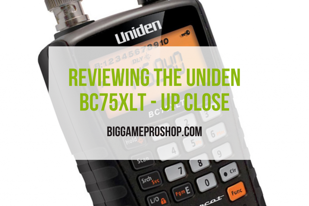 The Uniden BC75XLT