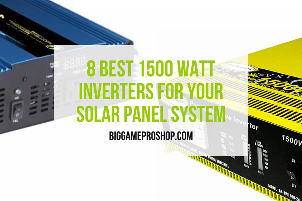 Best 1500 Watt Inverters